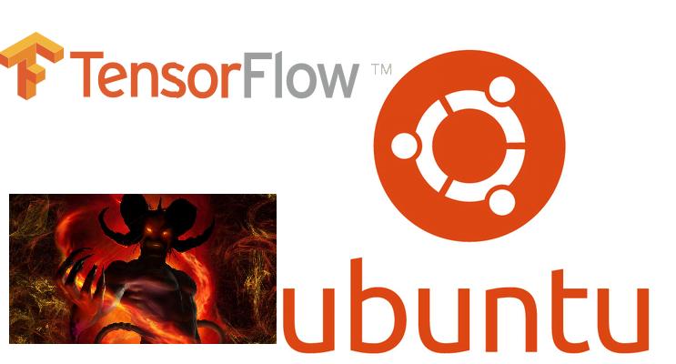 Instalacja Tensorflow 0.9 CUDA 7.5 na ubuntu 16.04 i diabeł na ramieniu